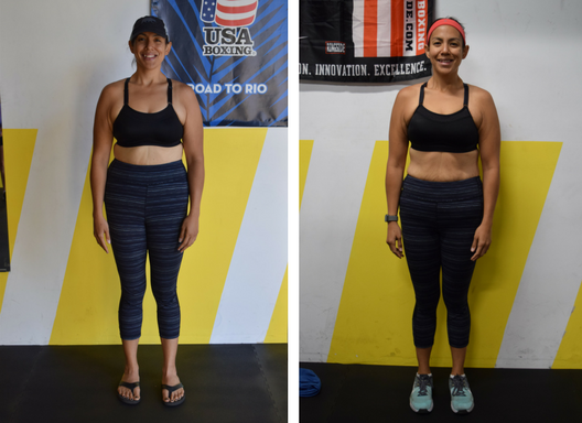 In just 6 weeks, Alison lost 12.2 pounds and dropped 16.25 inches!