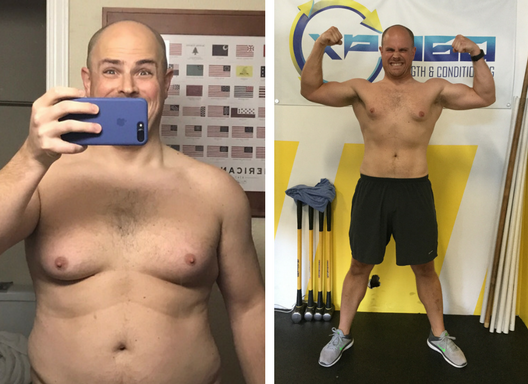 After joining XP360 for its very first 28-day challenge in 2017, Jason is leaner than he's ever been!