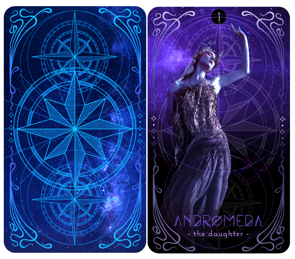 A celestial tarot deck - Look for it in 2022!