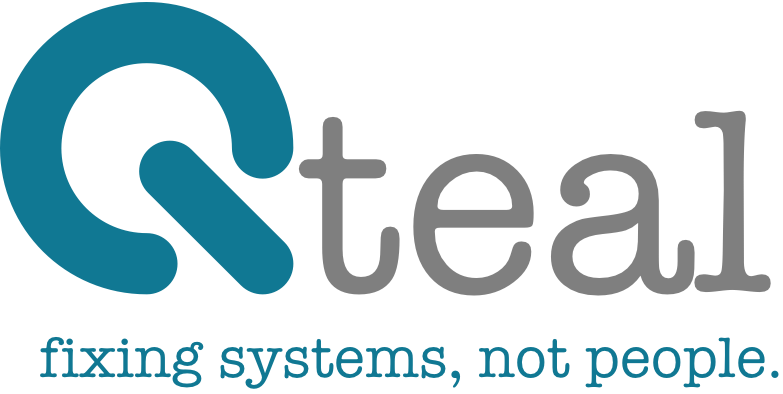 Qteal | fixing systems, not people.