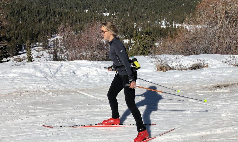 Miranda Martin: educational policy expert and cross-country skier.