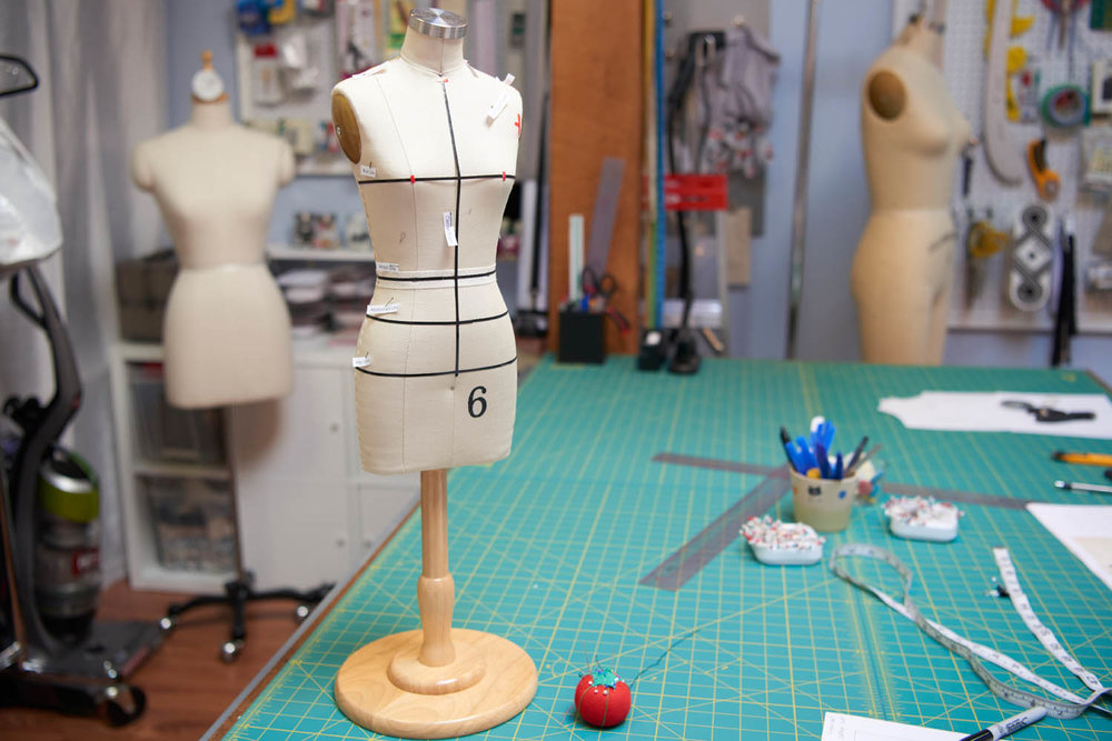 Fashion Draping Classes - You may or may not know I offer fashion draping classes and workshops from my private studio. If you're interested in taking a class in a group or privately please inquire by sending me an email and/or review the fashion draping page.