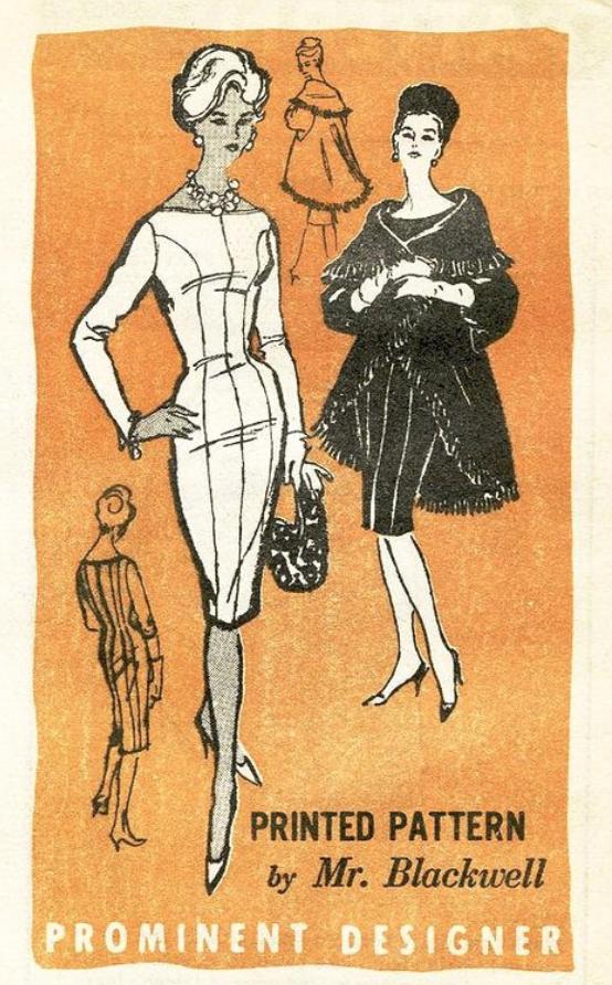 Vintage SwankA548 - That dress!