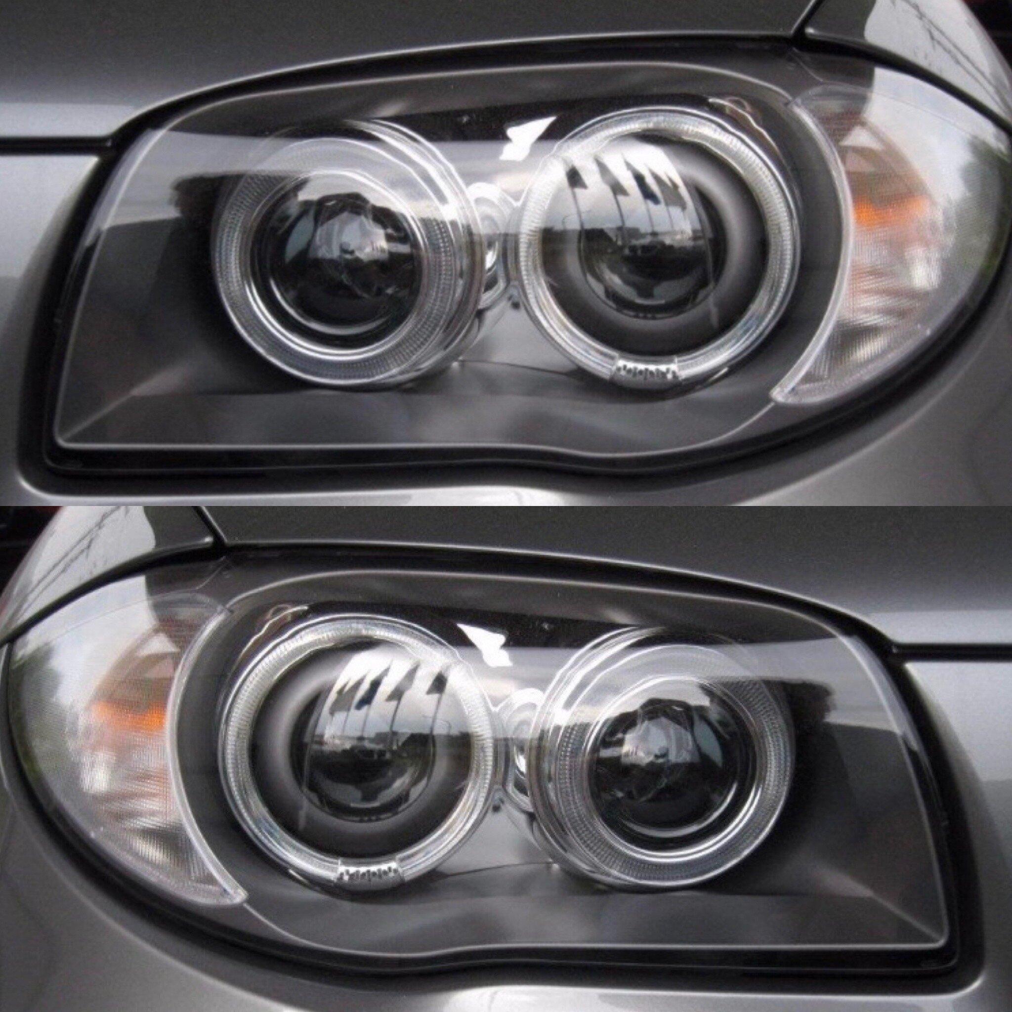 BMW 1 Series Bi Xenon NON Adaptive HeadLights Pre-LCI Pair DRL 2007-UP —  Bavgrüppe Designs