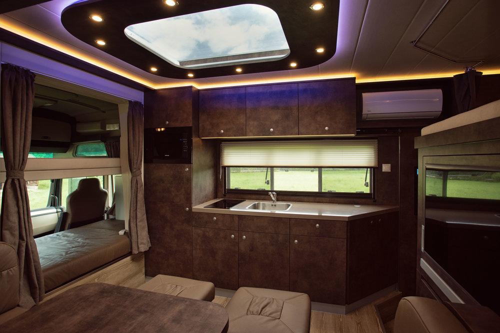 Interior design of our Luxury Line