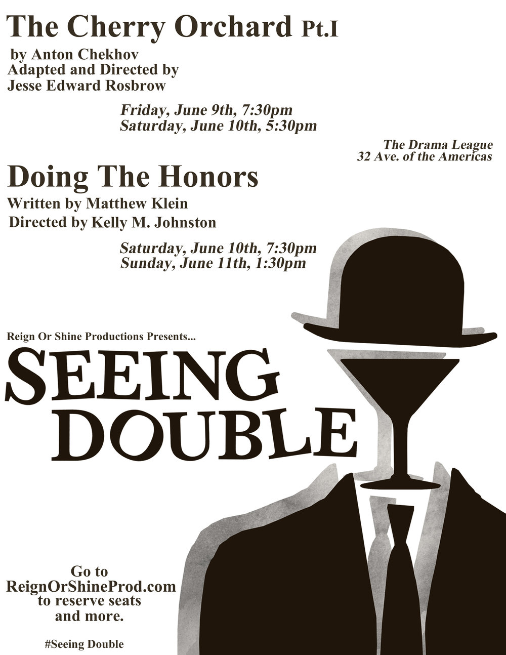 Seeing Doible Poster Designed by Lauren McCune and Lauren Hubbard
