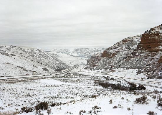 Untitled, Near Echo, UT (diptych joint view-panels) 2007