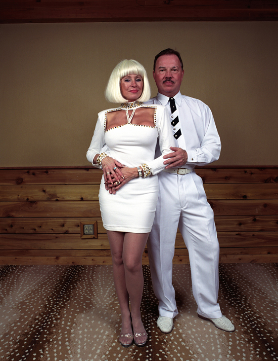 White Party Couple, Cold Fusion, Aspen, CO. April 2005 | Images courtesy of M + B Gallery