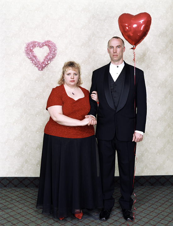 Fargo Couple, Valentine's Day Hotel Takeover, Minneapolis, MN. February 2004