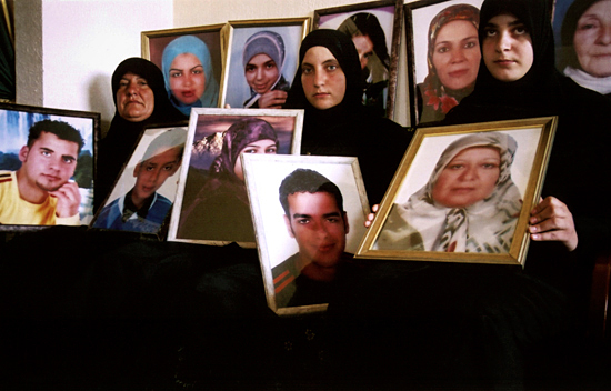 Victims of bombing. Lebanon, 2006