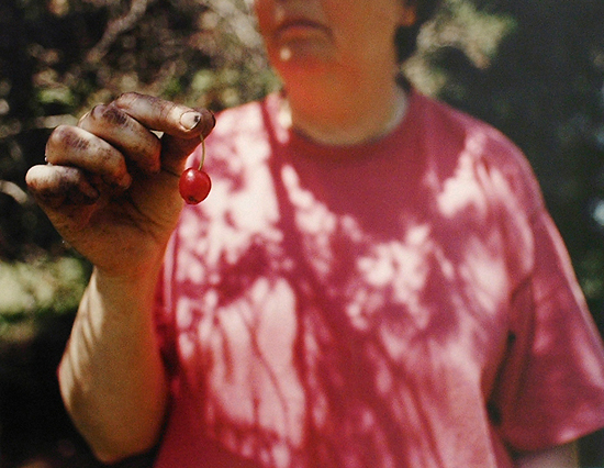 Untitled (Cherry in Hand), 1998