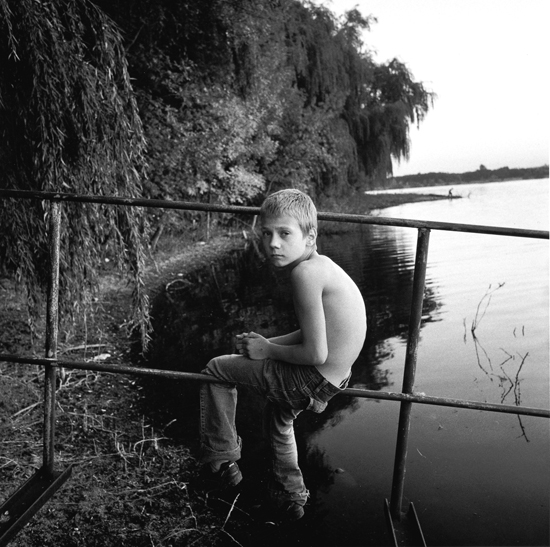 An Orphan Boy, Ukraine, 2005