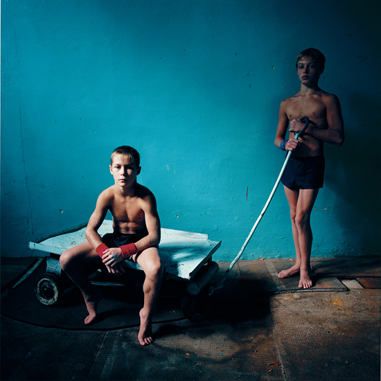 Two Athletes, Ukraine, 2006