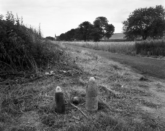 Shells by field near Baumont-Hamel, France, 2007 | Bonnell Robinson