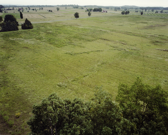 Site of Pickett's Charge, Gettysburg, Adams County, Pennsylvania, 2009 | Dana Mueller