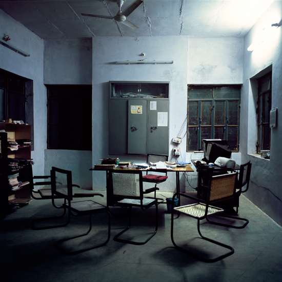 Water Department Office, Kekri, India. 2007