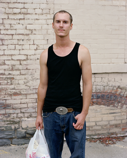 Justin, Greyhound Bus Station, Binghamton, NY, 2008 | Tema Stauffer
