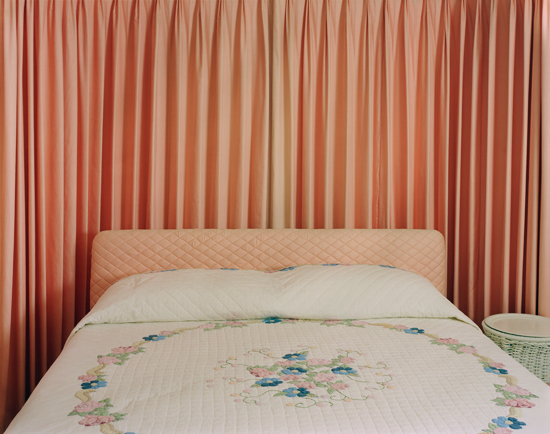 Peach bedroom, 2009, Archival Piezo Print