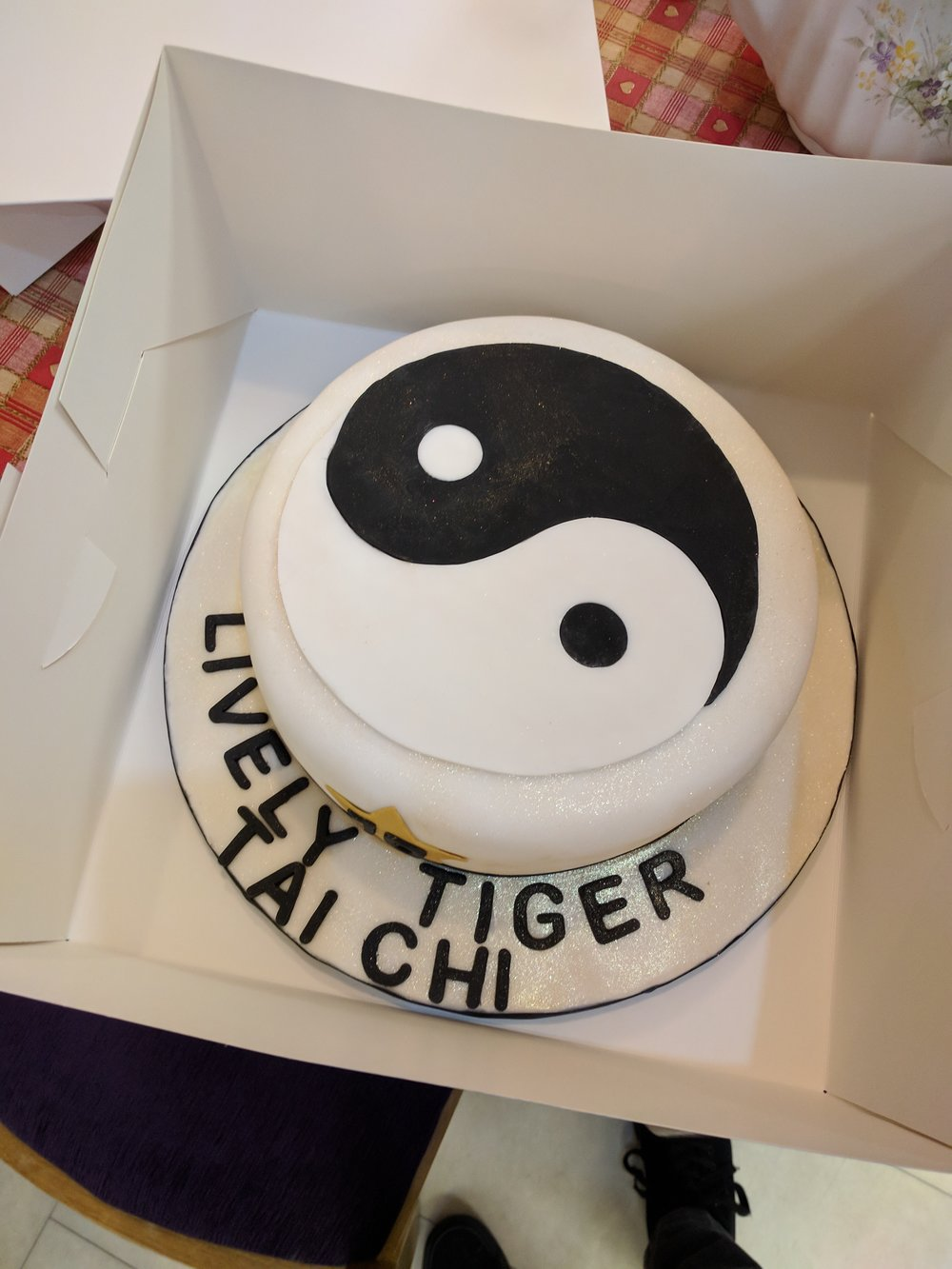 Our Birthday Cake!