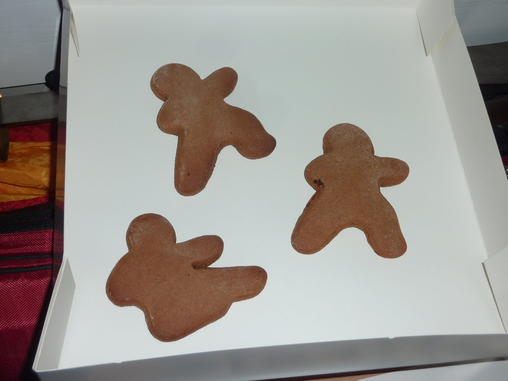 Gluten and Diary Free Ninja-bread Men