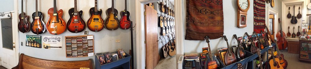 Fretted Instrument Workshop offers the largest selection of new and vintage acoustic instruments in Massachusetts