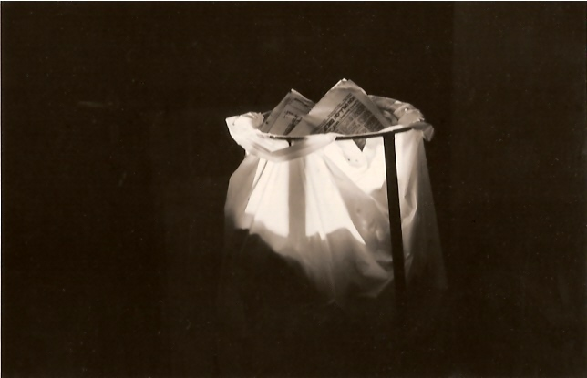 About light, gelatin silver print
