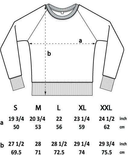 Crewneck jumper dimensions sizing | Bright Zine.jpg
