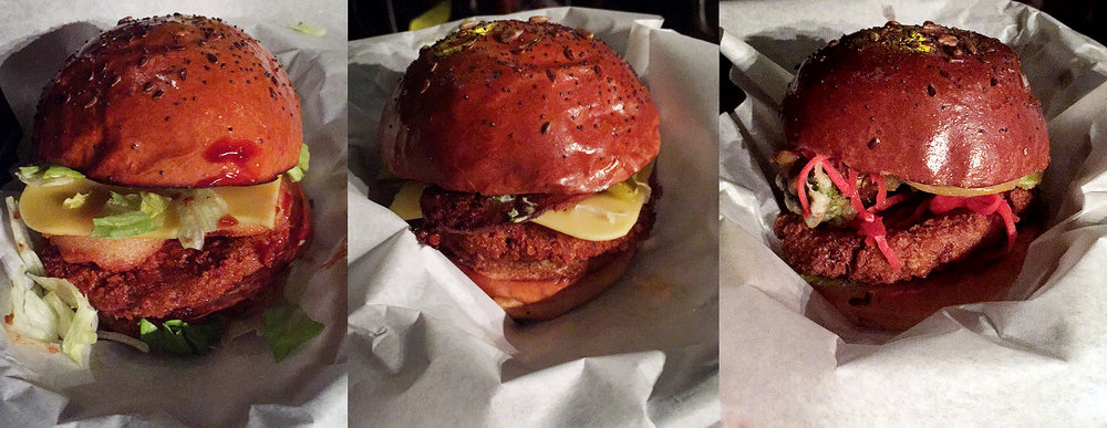 Just some of the burgers, we have: The Father Jack, The New Jack City & The Jacksu