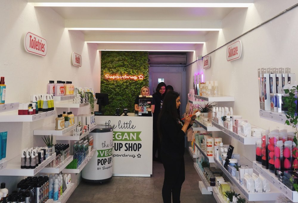 Superdrug Little Vegan Pop Up Shop | Bright Zine -2.JPG