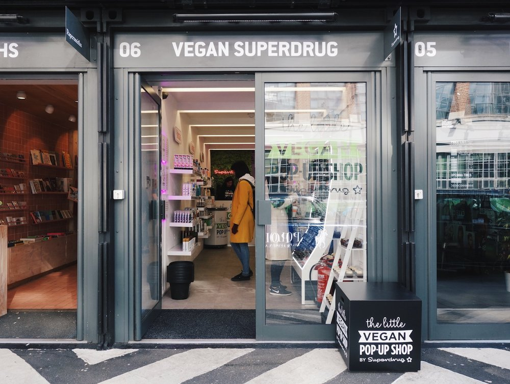Superdrug Little Vegan Pop Up Shop | Bright Zine.JPG