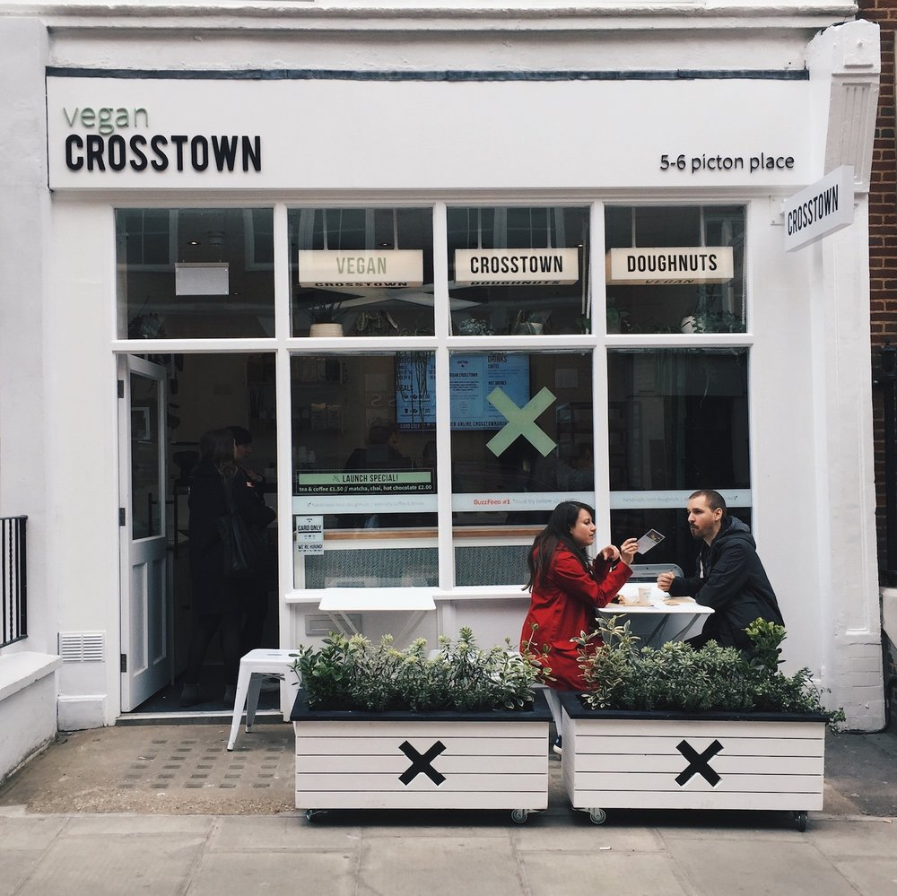 Crosstown Vegan Doughnuts London Marylebone | Bright Zine.JPG
