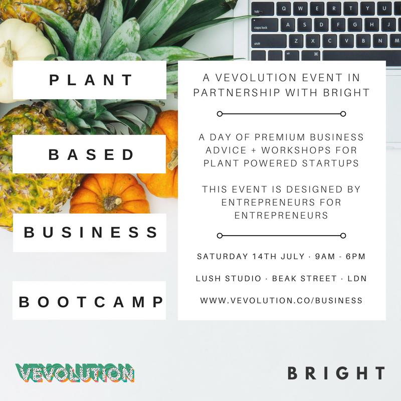 Plant Based Business Bootcamp   Bright Zine Vevolution