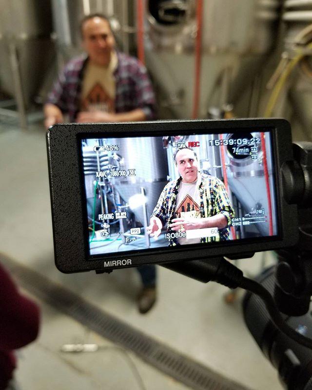 Talking brewery equipment!