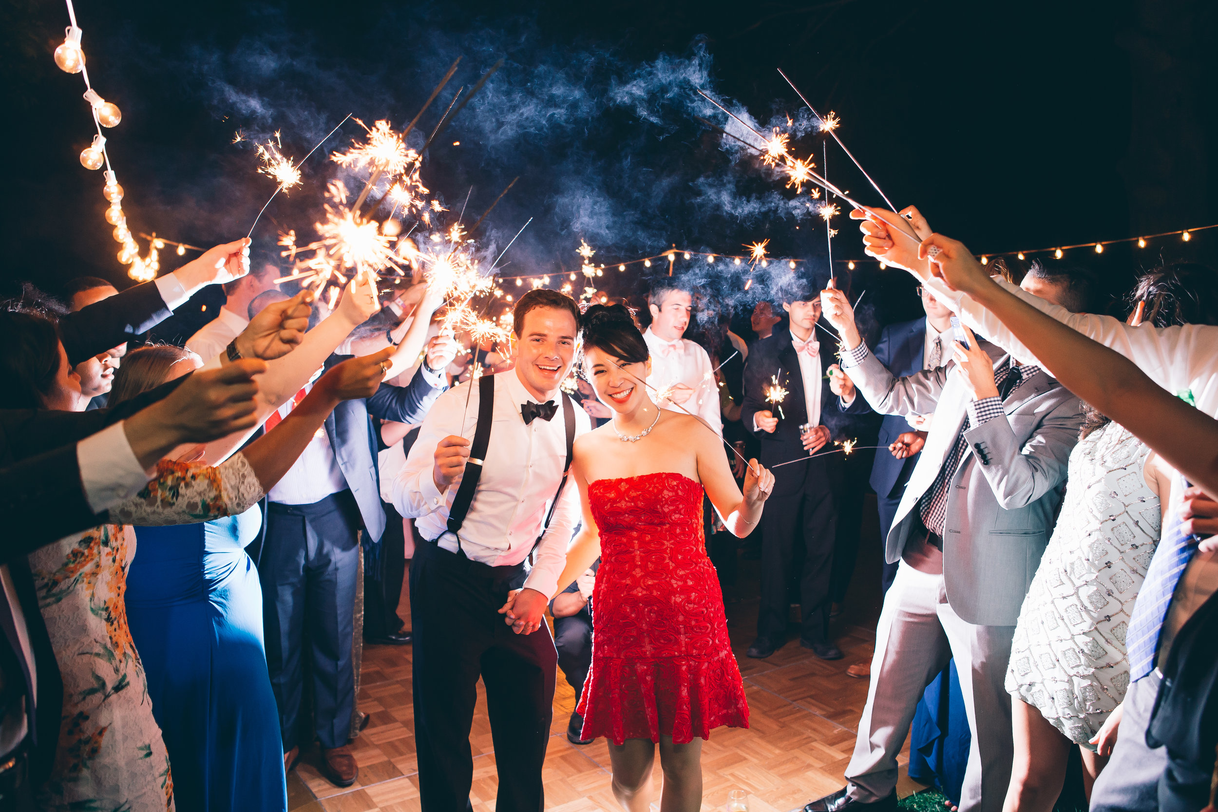 Sparkler Exit, Bride and Groom, Weddings, New York Wedding Planner, Westchester Wedding Planner, Beauty and the Details, Beauty & the Details