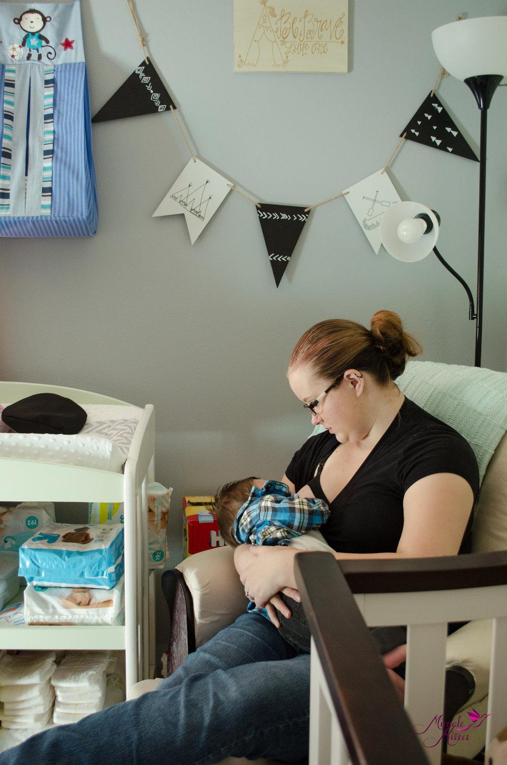 Lifestyle breastfeeding in nursery