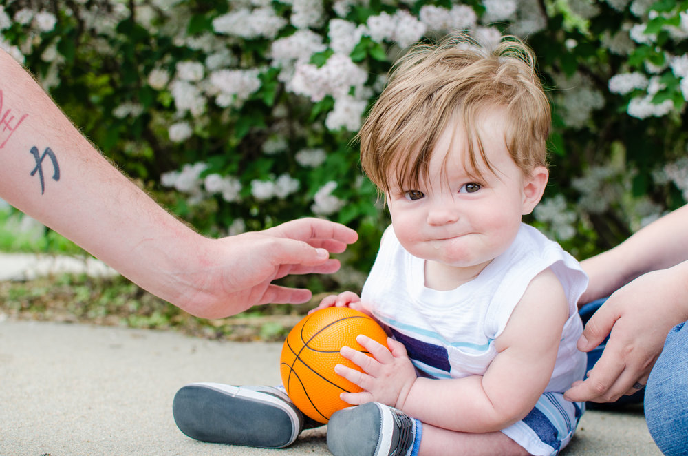Adorable kid face, milestone session, personality, protection