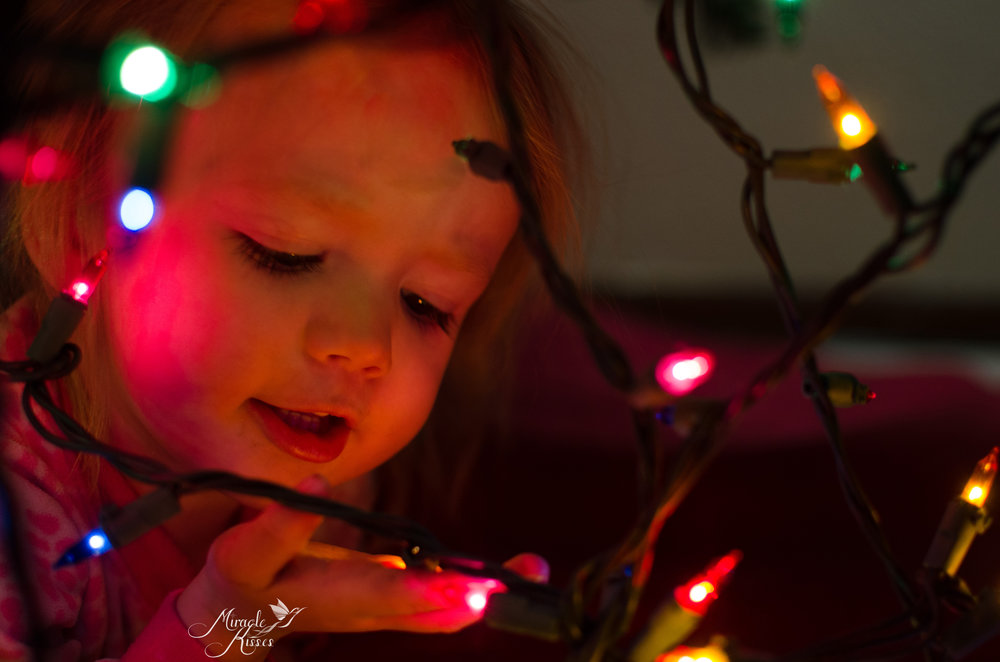 365mk2017, Sparkly, Christmas tree light, child magic