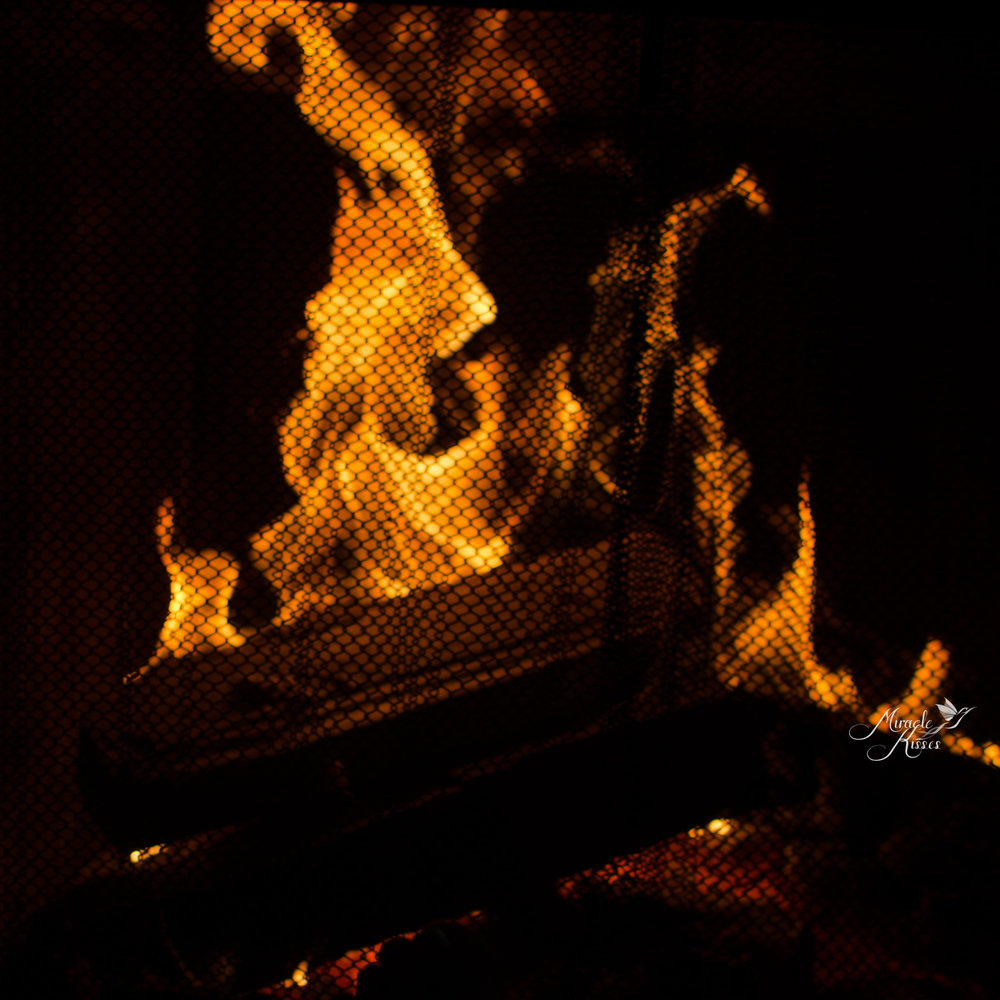 365mk2017, Flame, fireplace