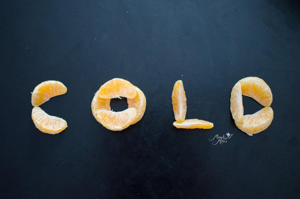 Cold oranges, food art, orange