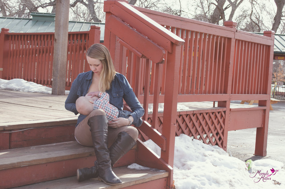 breastfeeding in public, at the denver zoo