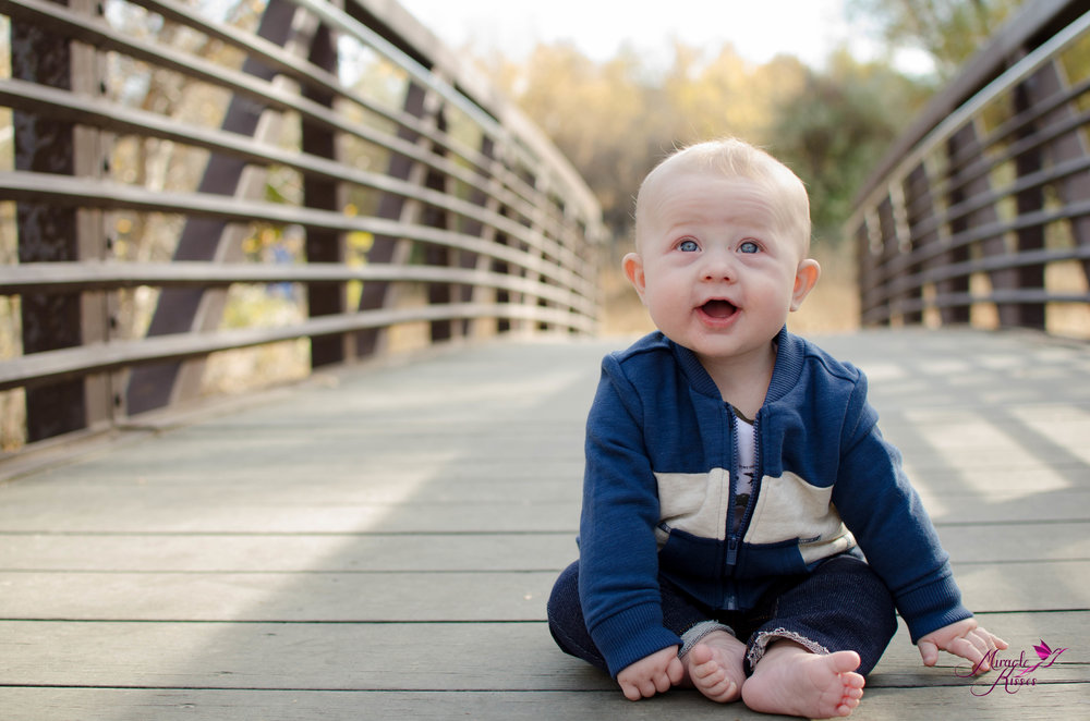 Milestone, family session, sitter, outdoor colorado photography