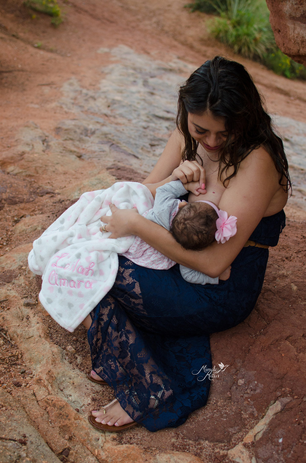 breastfeeding in public, garden of the gods, NICU baby