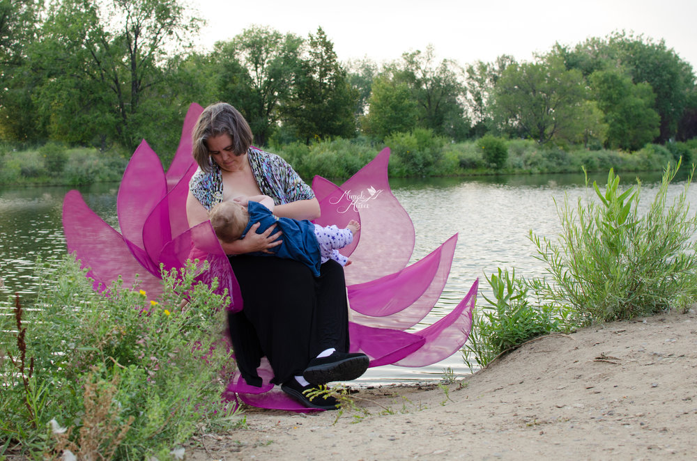 lotus blossom breastfeeding, beautiful mom, mommy and me