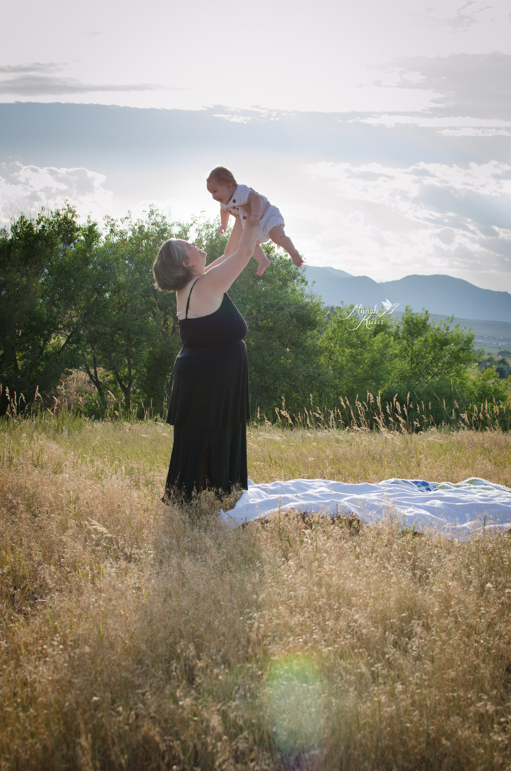 standley lake mommy photo, playing in the sun, mother daughter