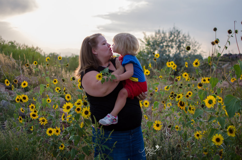 mommy and me, sunflowers and love, normalize breastfeeding