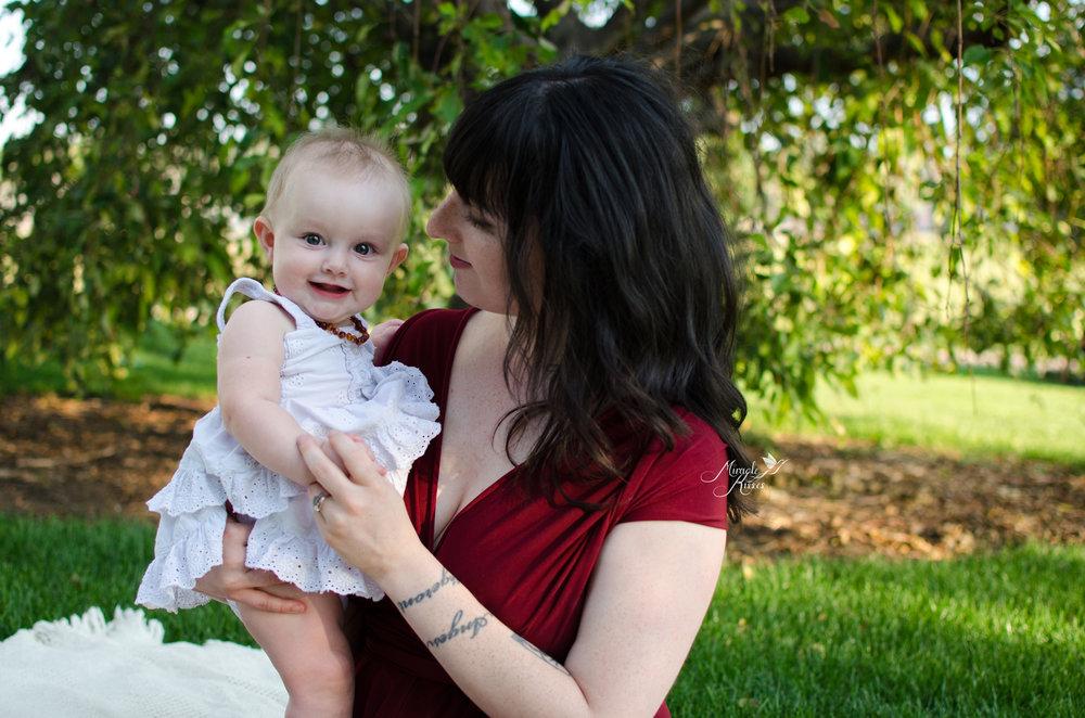 colorado breastfeeding story, smiley girl, miracle kisses