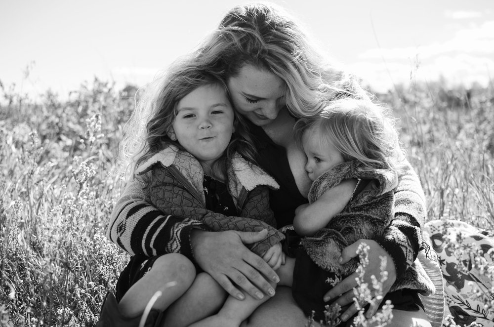 Colorado motherhood session