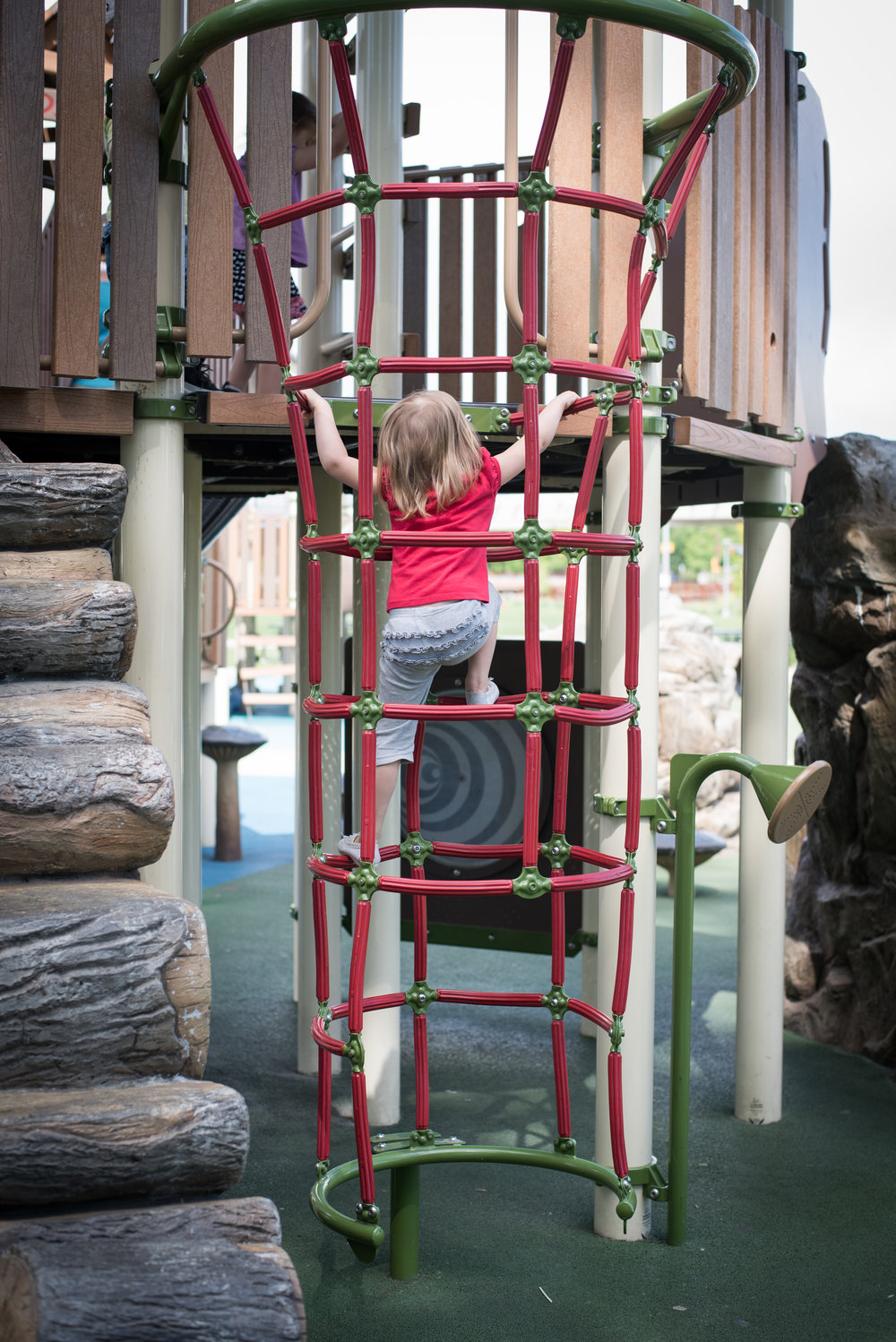 playground diaries, climbing and fearless