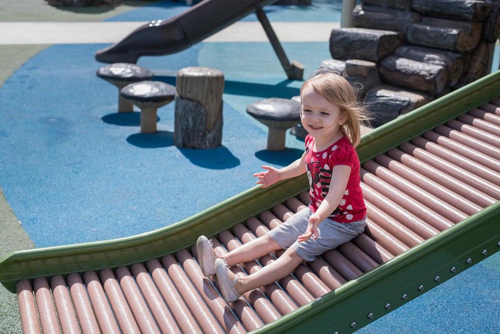 roller slide, playground denver, arvada park
