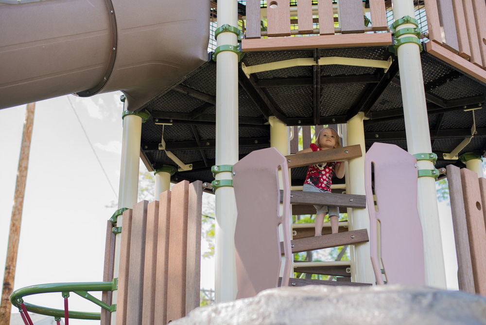 arvada playground, conquer your fears, heights